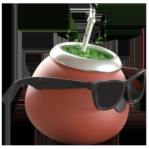 Mate in sunglasses